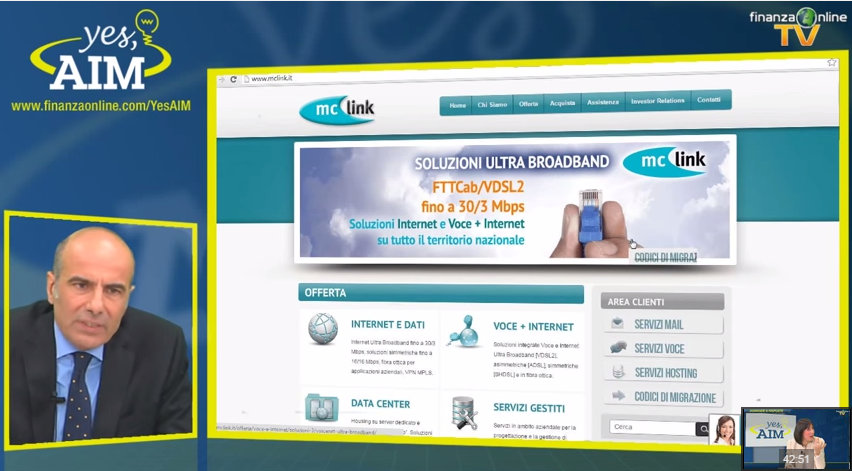 Finanza Online incontra MC Link